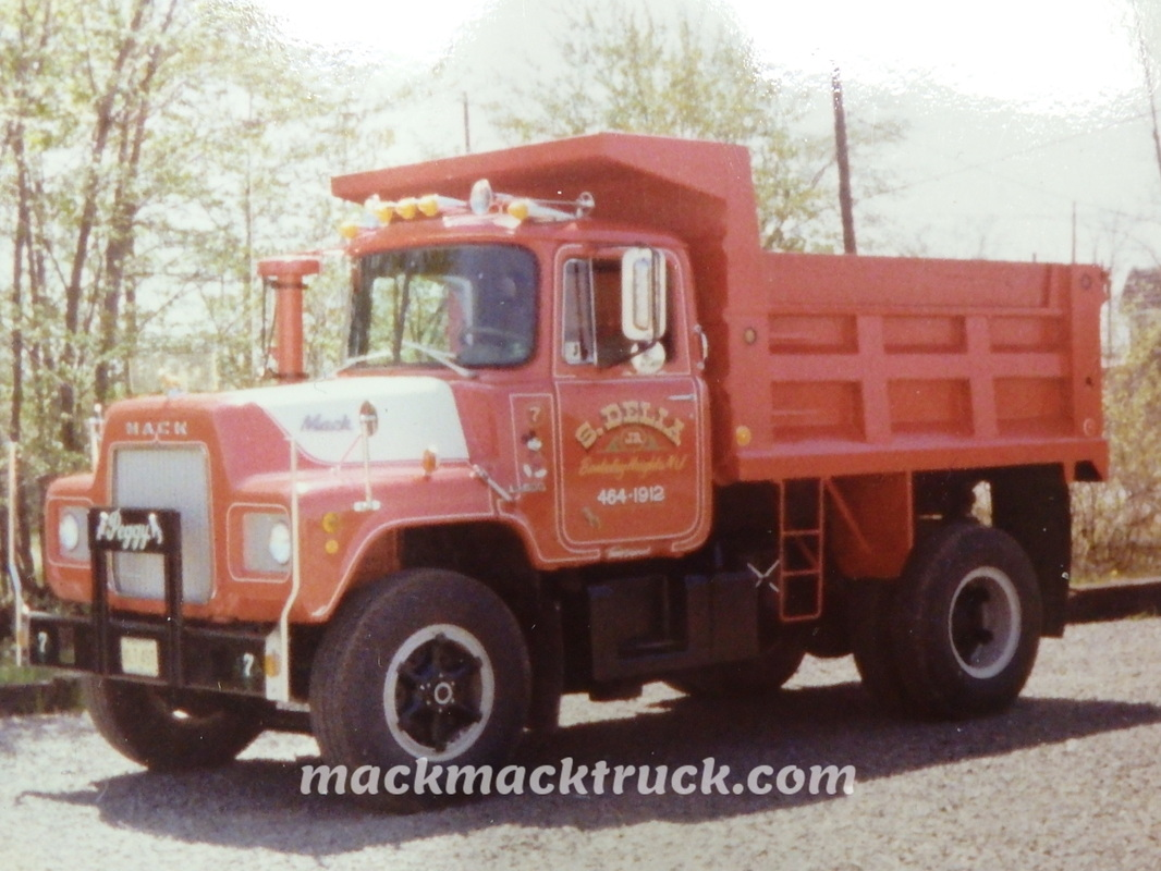 R Model Mack Truck Restoration Mickey Delia NJ - Mack