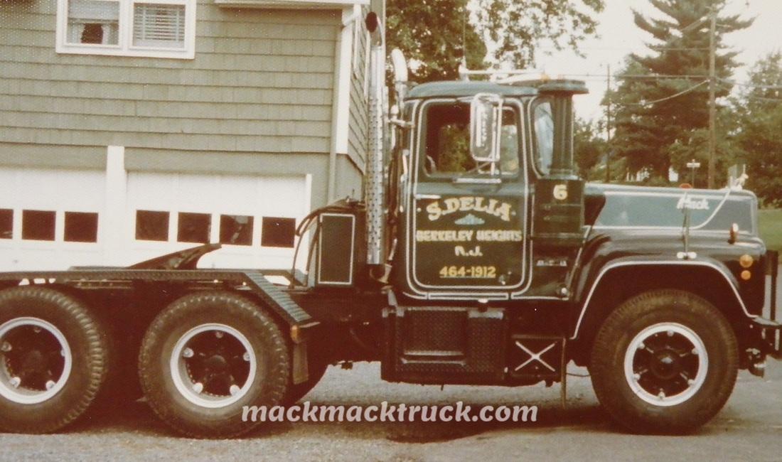 R Model Mack Show Truck : R model mack truck restoration mickey delia nj