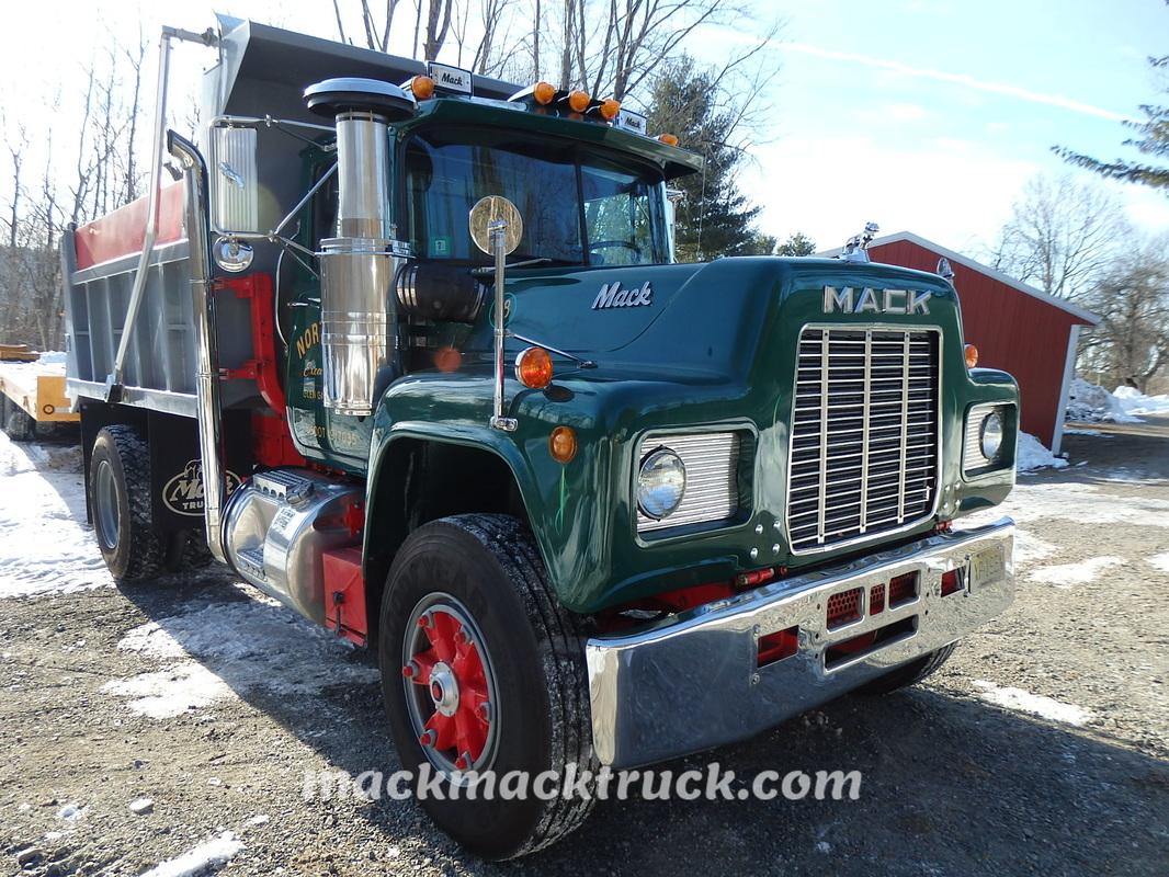 R Model Mack Truck Restoration Mickey Delia Nj Mack